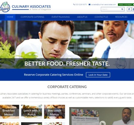 Techxperts Portfolio Culinary Associates
