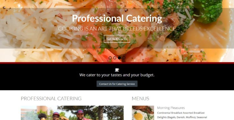 Techxperts Portfolio Durdens catering